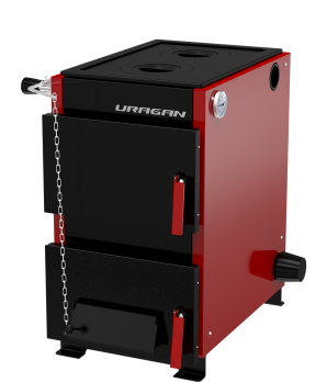Котел твердотопливный отопительный URAGAN («Ураган») 16 кВт