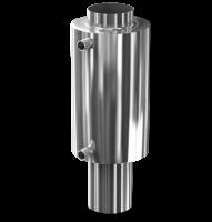 Универсальный регистр-теплообменник для дымоходов диаметром 115 мм