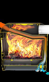 Печь для дома Метеор 220