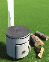 Печь для дома Печурка с набором чугунных колец_1